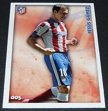 JESUS GAMEZ ATLETICO MADRID FOOTBALL CARD LIGA 2014-2015 MUNDICROMO PANINI