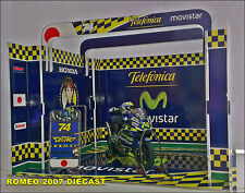 1:12 Pit Box Garage Diorama Daijiro Kato Memorial Honda 2003 to minichamps RARE