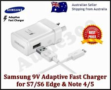 GENUINE SAMSUNG 9V Adaptive FAST AC Wall Charger For Galaxy S7 S6 Edge+ Note 4 5