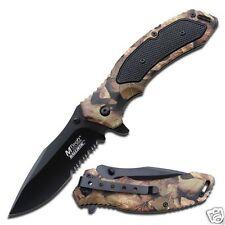 MTech Ballistic Messer Taschenmesser 440 Stahl Aluminium Griff MTA835CA