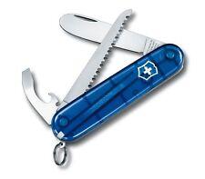 My first VICTORINOX Schweizer Kinder Taschenmesser Blau NEU/OVP +Kette 0.2373.T2