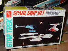 AMT 1976 76 STAR TREK SPACE SHIP SET MODEL KIT STILL IN BOX!