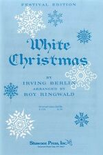 Irving Berlin: White Christmas (SATB) SATB, Piano Accompaniment Sheet Music Voca