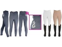 HYPERFORMANCE PRO LADIES BREECHES FOR HORSE RIDING WATER REPELLENT & BREATHABLE