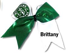 Customized  Starbucks Mystique Spandex  Cheer Hair Bow