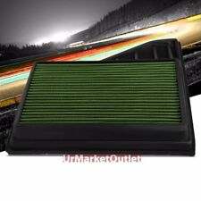 Reusable Green High Flow Drop-In Air Filter For Mustang 10 4.6L/11-14 3.7/5.0L