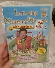 Lets Sing Nursery Rhymes With Justin Fletcher - Sealed NEW DVD