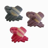 Winter Warmer Ladie's Women's Girl's Soft & Cosy Chenille Thermal Winter Gloves