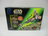 Star Wars Speeder Bike w/ Leia Organa in Endor Gear The Power of the Force