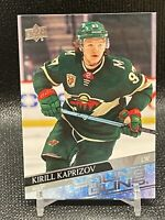 2021 Upper Deck Series 2 Kirill Kaprizov Young Guns RC #451  SSP Rookie of Year