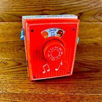 Vintage Fisher 1973 Price Pocket Radio Music Box Jack & Jill Nursery Rhyme 772