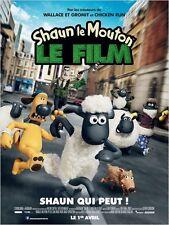Affiche 40x60cm SHAUN LE MOUTON /SHAUN THE SHEEP MOVIE 2015 Mark Burton - Neuve
