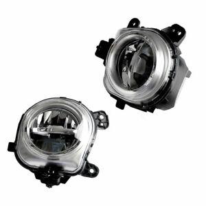 2x Front LED Bumper Fog Light Lamp Fit For BMW F25 X4 F26 X5 F15 F85 X6 F16 Atn