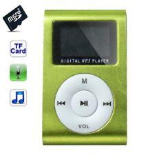 Lector MP3 4gb - carta memoria - clip para el cinturón - pantalla LCD