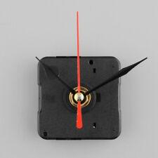 Clock Quartz Movement Mechanism Red and Black Hand DIY Replacement Part Kit