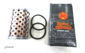 Royal Enfield Ölfilter Continental GT 535,EFI Bullet,Classic 500 mit O-Ringen