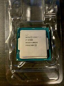 Intel Core i7-6700K 4.0 GHz Quad-Core (BX80662I76700K) Processor 8M Cache
