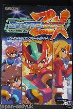 JAPAN Rockman ZX / Mega Man ZX Official Complete Guide