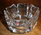 ORREFORS SWEDEN ART GLASS CRYSTAL BOWL Choose 6 Petal or Lotus Vase VE