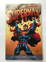 Superman Volume 5 Under Fire - New 52 DC Comics Graphic Novel Trade Paperback