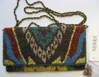 RELIQUE Damen Handtasche-Abendtasche RB 009 Mehrfarbig
