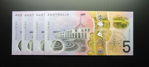 First Prefix 2016 $5 AA16 New Generation Banknote  R224F UNC