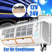 12V / 24V Car Air Conditioner Fan For Car Caravan Truck Hanging Air Conditioner