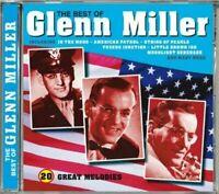 THE BEST OF GLENN MILLER 20 GREAT MELODIES DELTA MUSIC KENT UK CD NEW