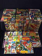 Marvel Comics Fantasy Masterpieces Lot 21 Comics Total Silver Age