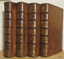 OEUVRES DE CLEMENT MAROT 4 vols in-4° Gosse La Haye 1731 PORTRAIT VIGNETTES RARE