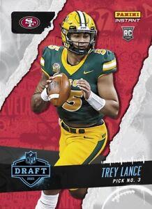 2021 Panini Instant Draft Night Trey Lance PRESALE