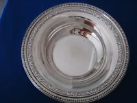 Reed & Barton Silverplate Serving Bowl - Pattern 1201 - 10 inches x 2 1/4 - VGC
