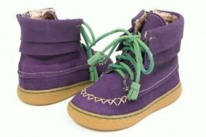 NIB LIVIE & LUCA Shoes Boots Hopper Grape Purple toddler 4