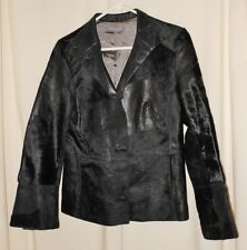 Christian Blanken Women's Fitted Designer Leather Jacket  Super Nice Italy Small