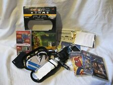 Sony PSP Lot with PSP Player, Chargers and Games
