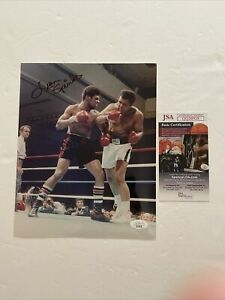 Leon Spinks Signed 8 x 10 Photo JSA COA Boxing World Champion