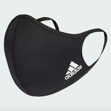 NEW ADIDAS Adult Small Sport Face Mask Face Cover 1 SINGLE Mask Black Free Ship