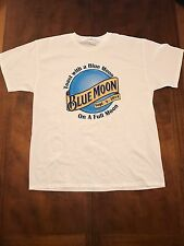 Blue Moon T Shirt XL Fruit Of The Loom Toast With A Blue Moon Full Moon 2014