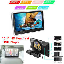 "10.1"" HD 1080P TFT Headrest DVD Player Car Back Seat Entertainment Monitor Kit"