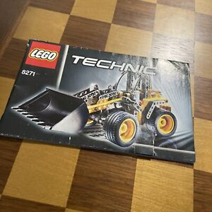 LEGO TECHNIC 8271 INSTRUCTION MANUAL only