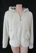 Peter Alexander Size M/12 Soft Fluffy Hoodie Top With Bear Ears