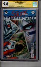 (B2) Suicide Squad: Rebirth #1 CGC 9.8 Signature Series 5x Signed