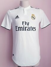 Real Madrid 2018 - 2019 Home football Adidas climachill shirt Player Issue sz S