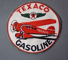 """TEXACO Aviation Fuels Embroidered Iron-On Uniform-Jacket Patch 3"""""""