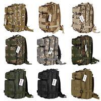 Outdoor Military Tactical 30L Backpack Camping Hiking Trekking Bag Rucksacks