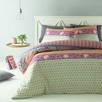 New The Big Sleep Ava Mauve SINGLE Size Quilt Doona Cover Set