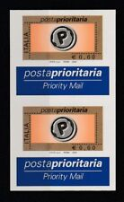 FRANCOBOLLI - 2004 REPUBBLICA PRIORITARIA COPPIA € 0,60 VARIETA' MNH Z/9679