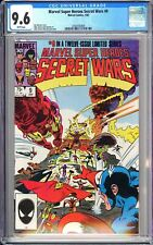 Marvel Super Heroes Secret Wars #9 CGC 9.6 WP 1985 3763192009 Limited Series!
