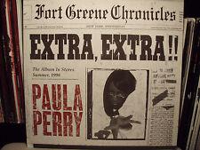 "PAULA PERRY + DJ PREMIER - EXTRA, EXTRA / DOWN TO DIE (12"")  1998!!!  RARE!!!"