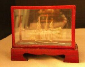 1:6 Barbie scale Miniature Shadow Box ship #2